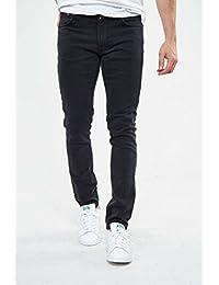Jeans Nudie Jeans Lean Dean Tapered Noir Homme