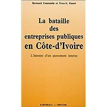 La bataille des entreprises publiques en Côte-d'Ivoire : L'histoire d'un ajustement interne