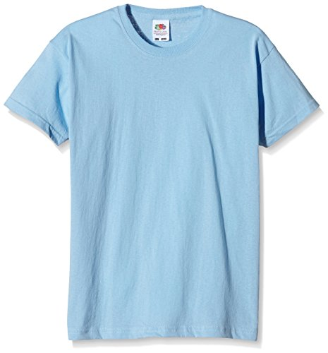 Fruit of the Loom Fruit of the LoomJungen T-Shirt Blau Himmelblau