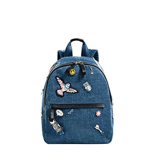 Imagen de sulmoe  bolso  de vaquero para mujer azul azul