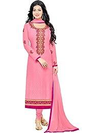 MF Next Fancy Light Pink Brasso Heavy Embroidered Salwar Suit