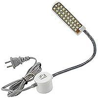 Bonlux Arbeiten Nähmaschine Schwanenhalslampe 30 LED-Licht Arbeiten mit Magnetmontagebasis für alle Nähmaschine Beleuchtung