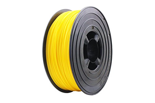 OWL-Filament Premium 3D PLA Filament 1kg 1,75mm Made in Germany (Gelb)