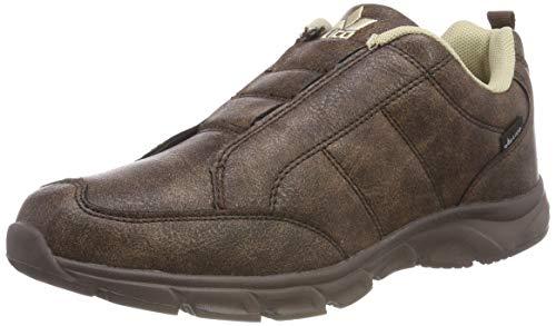 Lico Herren Rondo Slip IN Slipper, BRAUN/BEIGE, 45 EU (Sneaker Rondo)