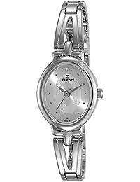 Titan Karishma Revive Analog Silver Dial Women's Watch-2594SM01