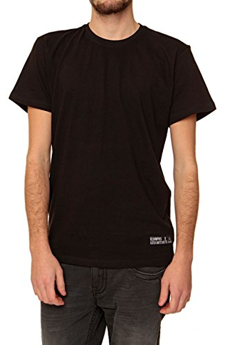 Eleven Paris Herren Shirt T-Shirt HEITAN M, Farbe: Schwarz Schwarz