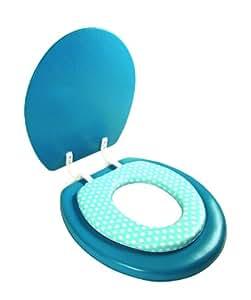 ABATTANT WC 2 EN 1 ADULTE ET ENFANT - BLEU - SB10939