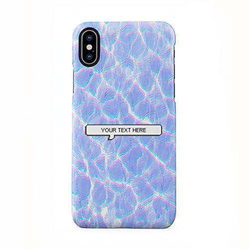 Custom Personalisiert Pastel Kawaii Tumblr Text Create Your Own Case Custom Zitat Schutzhülle aus Hartplastik Handy Hülle Kompatibel mit iPhone X, iPhone XS Case Hard Cover -