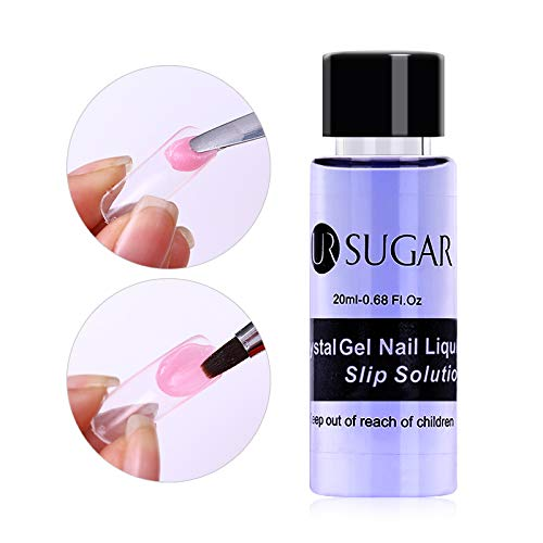 UR SUGAR 20ml Nagel Slip Solution Liquid Poly UV Gel Nail Builder Acryl Nagelgel Flüssigkeit Poly Liquid Acryl Nagel Liquid Für Nageldesign -