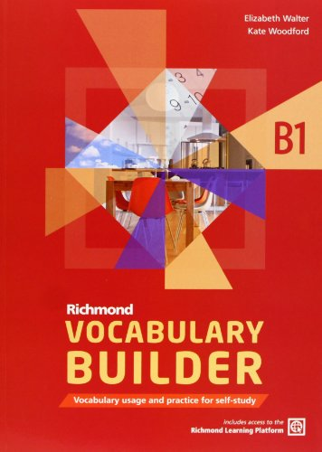 VOCABULARY BUILDER B1 RICHMOND (Richmond Vocabulary Builder) - 9788466815260