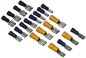 Hama Flachsteckverbinder Set I 20 St Elektronik