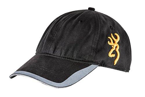 Browning Black Hat (Browning Baseball Hat Cap Side Buck Black Shooting Range Trap Clays 308081991)