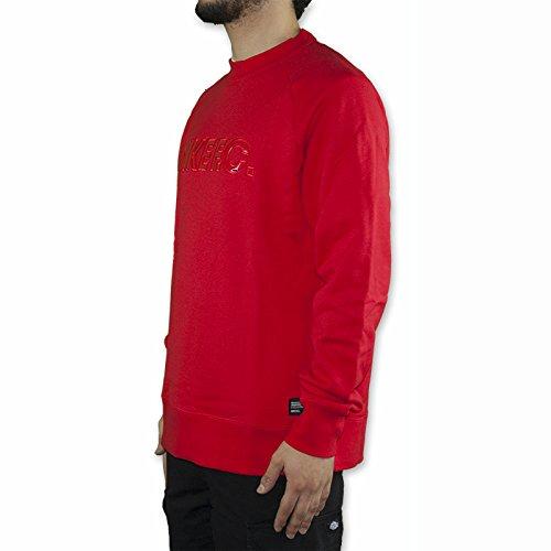 Nike FC CITY CREW Herren Sweatshirt Rot