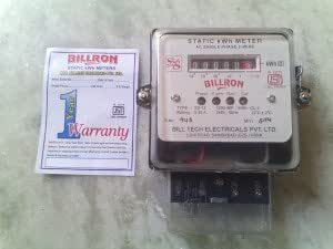 Single Phase Energy Meter, Electricity Consumption KWH Meter 1 Yr Manufacturer Warranty, 5-30 Amps