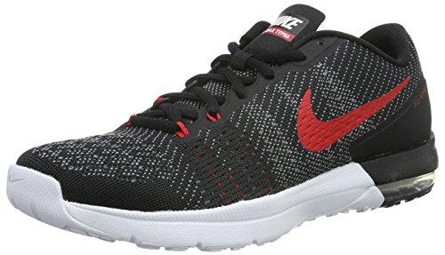 Nike Air Max Typha, Chaussures de Sport Homme, Taille Noir / blanc / gris / rouge (noir / blanc - gris froid - rouge université)