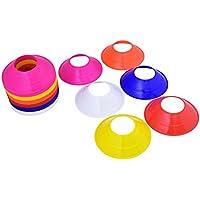 Kosma Set de 60 conos MARCADOR MINI Space   Fútbol marcadores cono multicolor con correa para llevar   Multi-función conos agilidad