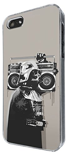 351 - Banksy Grafitti Darth Vader Design iphone 6 plus / 6 plus S 5.5'' Hülle Fashion Trend Case Back Cover Metall und Kunststoff