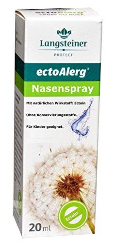 ectoAlerg, 20ml - Nasenspray bei Allergie, natürlich, effektiv, nebenwirkungsfrei, für Kinder geeignet, bei Heuschnupfen, Niesen, ohne konservierungsstoffe