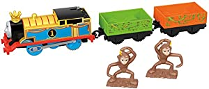 Thomas and Friends Tren de Juguete de la Locomotora Thomas y Los Monos, Juguetes Niños 3 Años (Mattel FXX55)