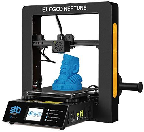 ELEGOO NEPTUNE Impresora 3D FDM Impresora 3D Pleno Metal Prusa i3 Tamaño de Impresión 205 * 205 * 200mm Compatible con Filamento TPU/PLA/ABS