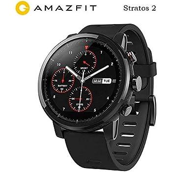 Xiaomi Amazfit 2 smartwatch Versión internacional Original Reloj en ejecución GPS Xiaomi Chip Bluetooth 4.2 Anti-perdida para teléfonos iOS Android