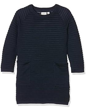 NAME IT Mädchen Kleid Nitwilda Ls Knit Dress Mz Ger
