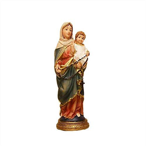 Virgen del Rosario 11cm