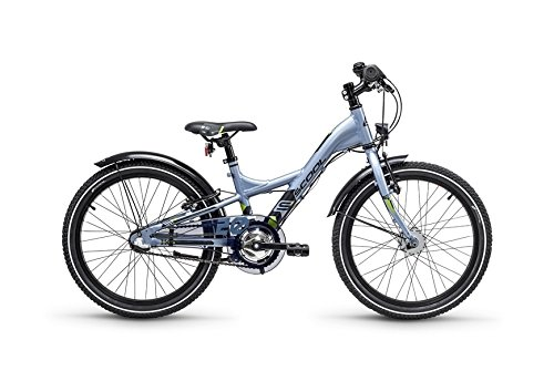 S'Cool XXlite Alloy 20R 3-S Kinder Mountain Bike (20 Zoll, Darkgrey/Black matt)