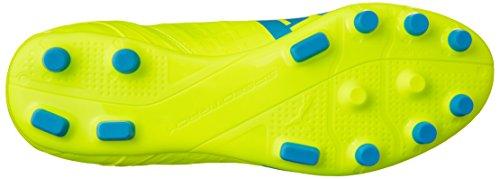 Puma evoSPEED 4 4 Artificial Ground  Men s Football Training Shoes  Yellow  Safety Yellow Atomic Blue White 04   12 UK  47 EU
