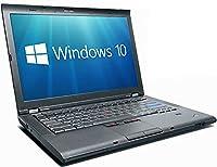 Lenovo ThinkPad T410 i5-520M 2.40GHz 8GB 320GB DVD WiFi Windows 10 Professional With Antivirus (Certified Refurbished)