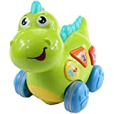 Fisca Baby Dinosaur Walking Toy For Babies & Toddlers,Learning Educational Musical Toys With Lights And Music