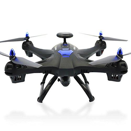 ter Bovake Globale Drone 6-Achsen X183 Mit 2MP WiFi FPV HD Kamera GPS Brushless Quadcopter (black) (Schlüssel Zur Realität)