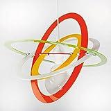 Lámpara moderna de plexiglás Multicolor Varios colores disponibles