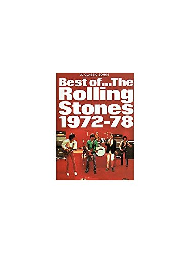 Best Of The Rolling Stones: Volume 2 1972-1978. Partitions pour Piano, Chant et Guitare(Boîtes d'Accord)