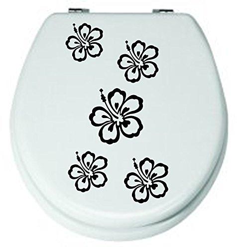 angebotblumen-set-schwarz-5-stckaufkleber-3-8cm-wc-stickerfenstersticker-wandtattoo-bad-fliesen-blut