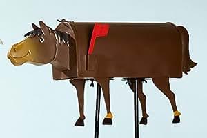 Gilde - Amerikanischer Briefkasten - Pferd - Wandbriefkasten - US Mailbox