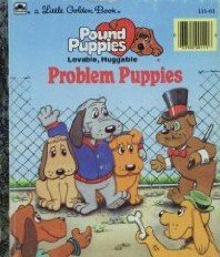 problem-puppies-little-golden-readers-pound-puppies-bibliothekseinband-by