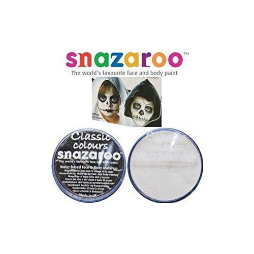 Halloween Snazaroo Black & White Water Based Face & Body Paint Fancy Dress Set
