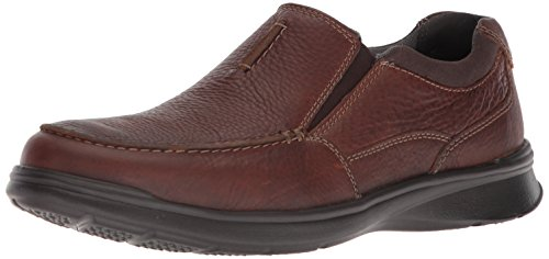 Preisvergleich Produktbild CLARKS Men's Cotrell Free Loafer, Tobacco Leather, 11.5 Wide US