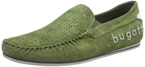 bugatti Herren 321704603400 Slipper, Grün (Green 7000), 43 EU -