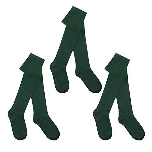 I.L.C.K - Mallas algodón niñas 3 pares Verde verde