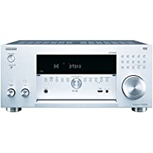 Onkyo TX-RZ3100-S - Receptor AV de red (11.2 canales, Wi-Fi, Bluetooth, AirPlay, Chromecast, FireConnect) color plata