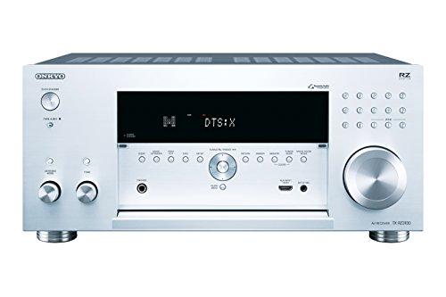 Onkyo TX-RZ3100 11.2-Kanal-Netzwerk-AV-Receiver (200 W/Kanal, Dolby Atmos und DTS:X, Bluetooth, WLAN, Streaming, Musik Apps wie Spotify u.a., Chromecast, FlareConnect) Silber