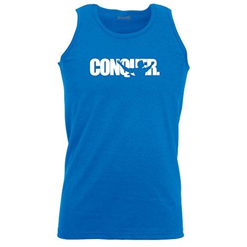 Brand88 - Conquer, Unisex Athletic Weste Koenigsblau