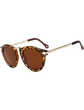 Winwintom Mujeres Hombres Diseñador frameunisex moda gafas de metal Lente gafas de sol de moda Aviator Espejo