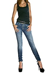 PLEASE - P83 femme wrinkled jeans