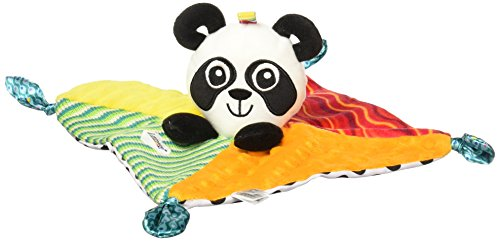 Image of Lamaze Panda Blankie - Part Soft Blanket Comforted