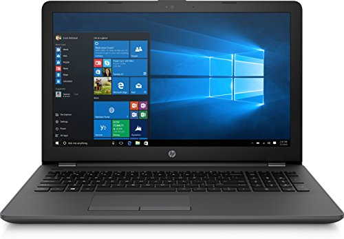 HP G5 255 G6 Notebook 1WY10EA, AMD E2-7110, RAM 4GB, HDD 500 GB, Display 15.6 pollici 1366x768, Senza sistema operativo, Nero