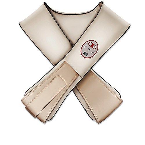 L.Atsain Masajeador De Cuello Y Hombros Básico Shiatsu Masajeador Cervical Con 3D Rotación Y Función,100 Tipos De Beat Way De Calor Para Relajación De Fatiga En Casa, Oficina,Gray
