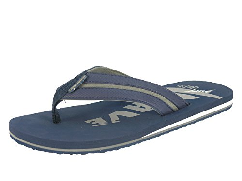 Beppi Herren Strandschuhe Zehentrenner Badeschuhe Navyblau